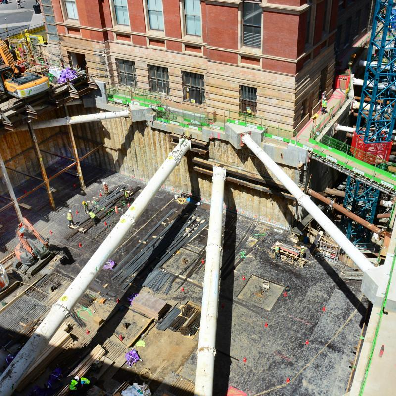 RC Frame and Temporary Works for Victoria & Albert Museum