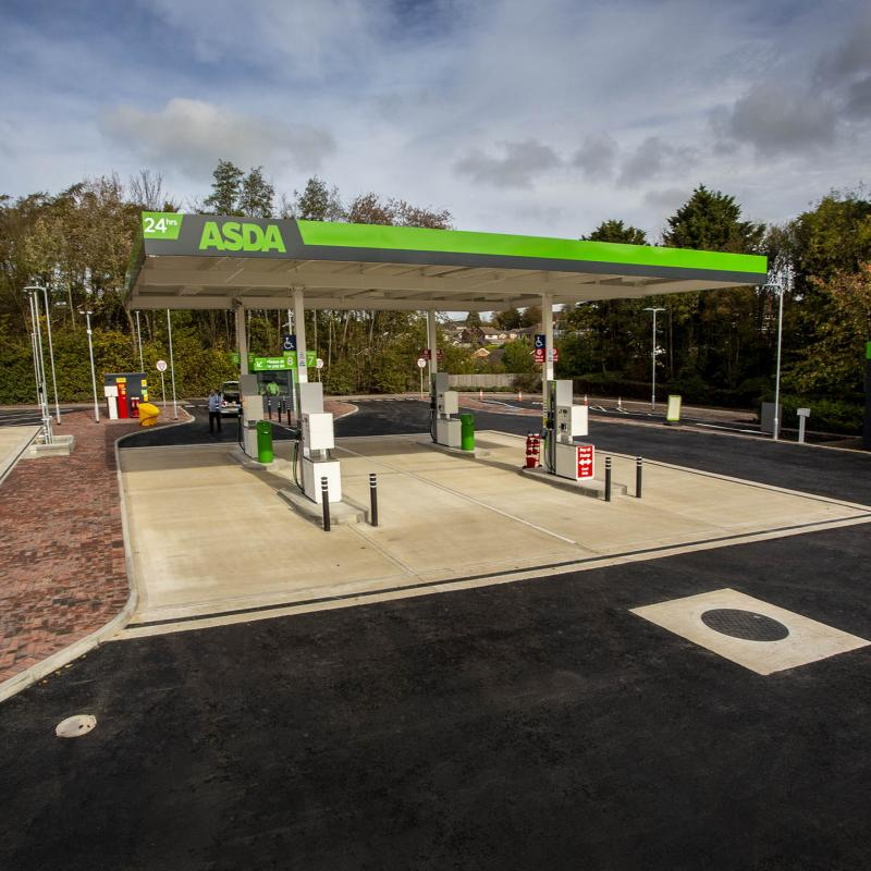 Petrol Station Redevelopment for Asda Kettering