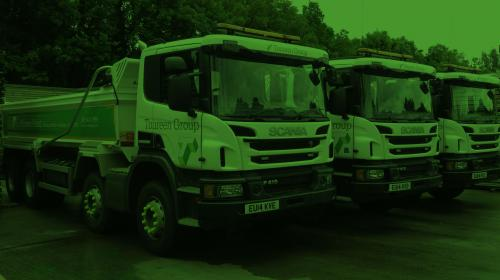 Toureen Group fleet of tipper lorries